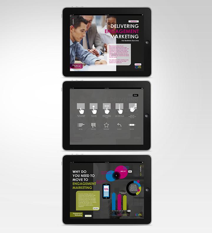 iDM iPad Content App - iDigital Marketing