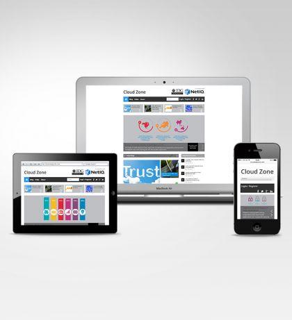 NetIQ Responsive Portal